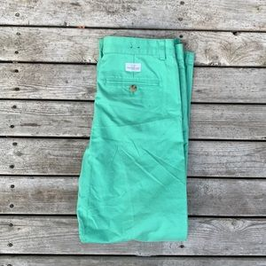 Vineyard Vines Boys 16 Teal Pants Straight Leg